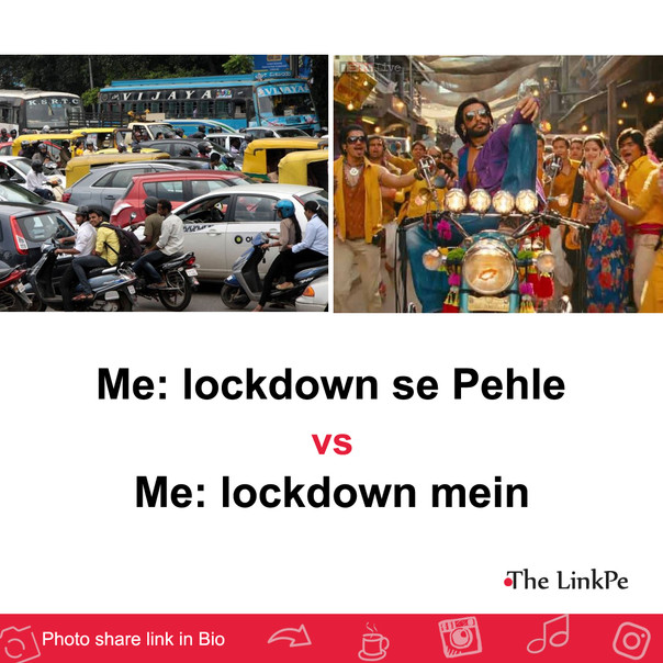 Me: lockdown se pehle vs lockdown me