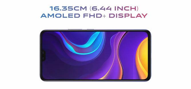 vivo V20 Pro 5G 6.44 inch FHD+ AMOLED Display