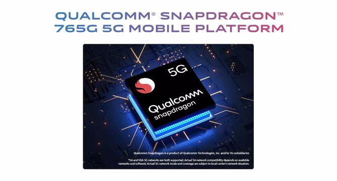 vivo V20 Pro 5G Snapdragon 765G SoC