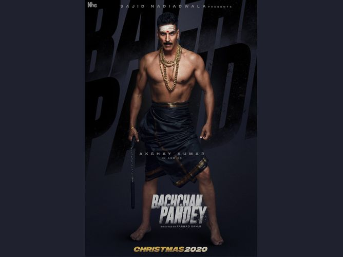 Bachchan Pandey movie poster - LinkPe