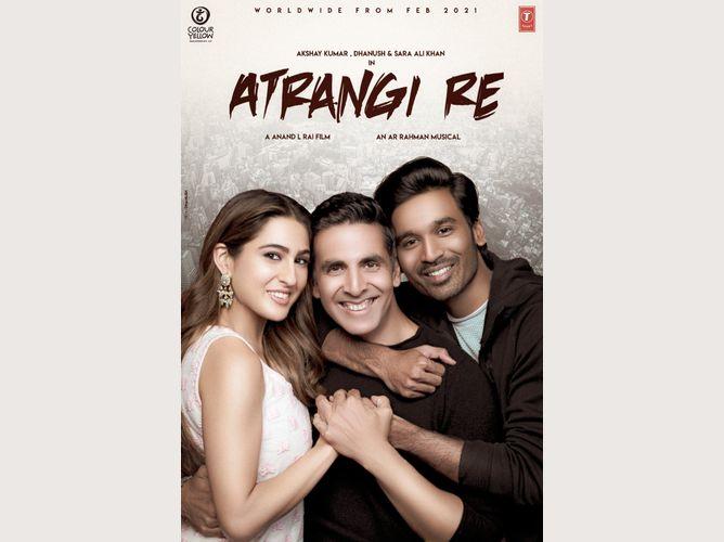 Atrangi Re movie poster - LinkPe