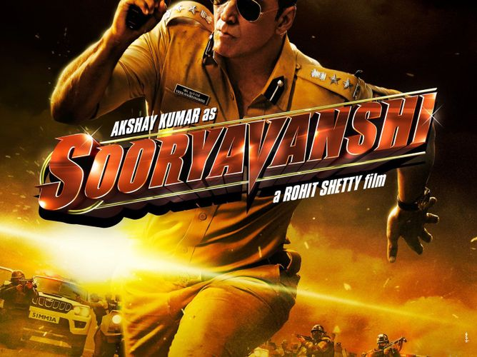 Sooryavanshi movie poster - LinkPe