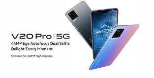 44MP सेल्फी कैमरा स्मार्टफोन Vivo V20 Pro (5G) हुआ लॉन्च, जानें कीमत और स्पेसिफिकेशन