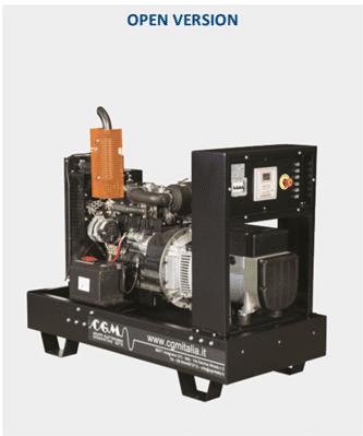 CGM Agregat (Izvedbe od 10 do 2500 kVA) Motor Perkins