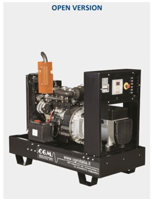 CGM Agregat (Izvedbe od 12,5 do 561 kVA) Motor Deutz