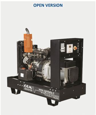 CGM Agregat (Izvedbe od 5 do 66 kVA) Motor Kohler