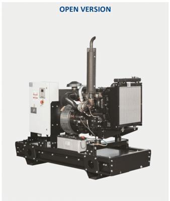 CGM Agregat (Izvedbe od 85 do 770 kVA) Motor Volvo