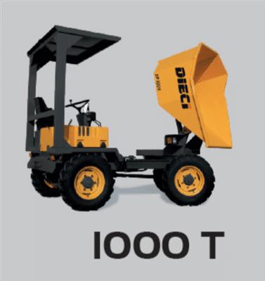 DIECI DUMPER 1000 T