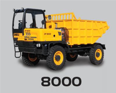 DIECI DUMPER 8000