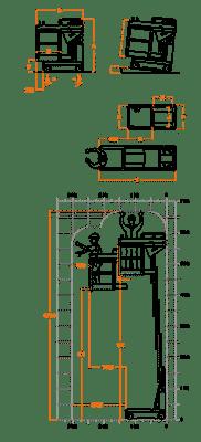 FARAONE ELEVAH 65 lagana radna platforma 6,6 mt radne visina
