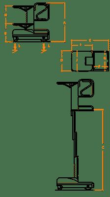 FARAONE ELEVAH 51 MOVE PICKING lagana radna platforma 5.1 mt radne visina