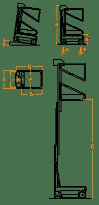 FARAONE ELEVAH 50 MOVE lagana radna platforma 5.1 mt radne visina