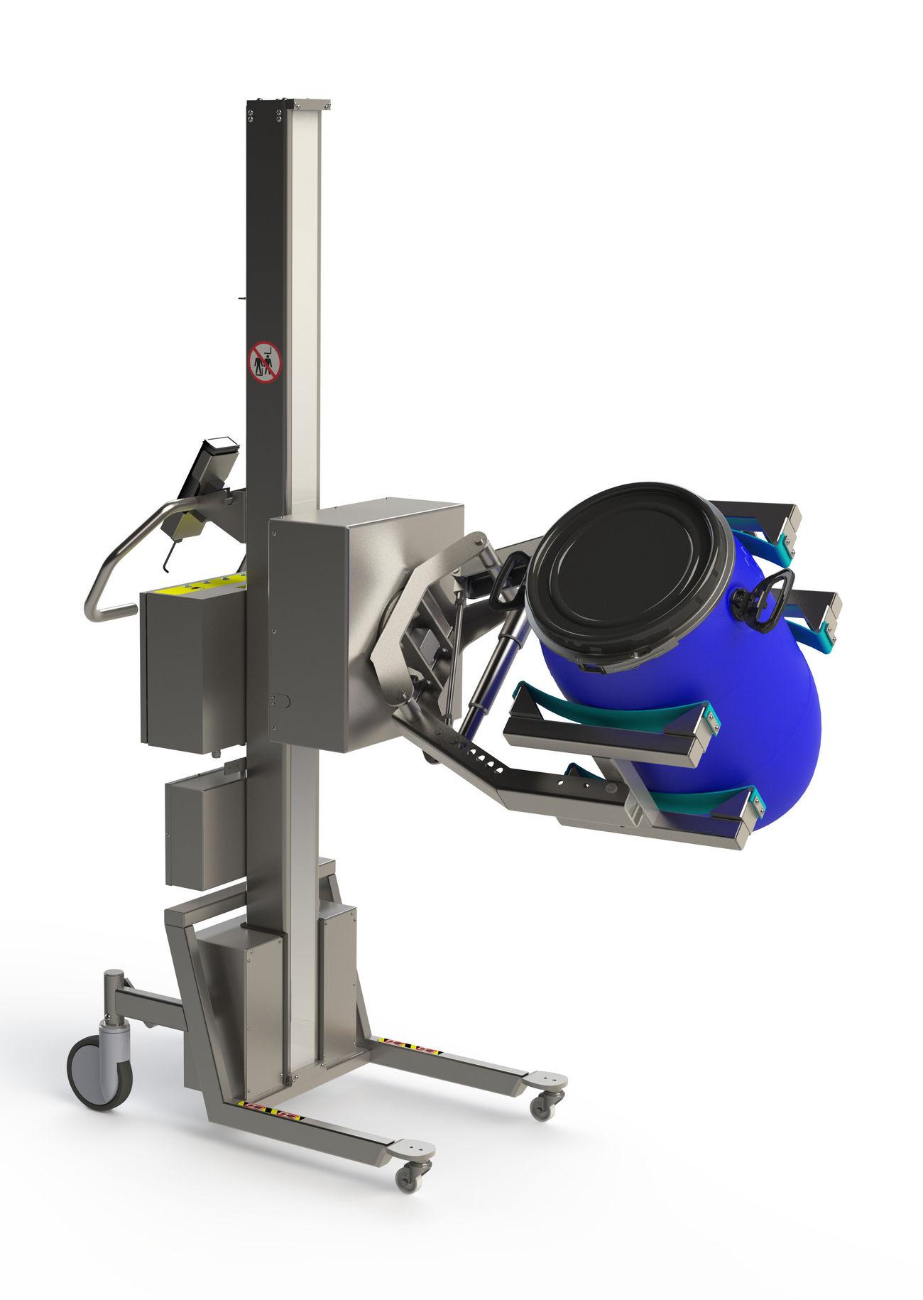 ELEKTRIČNA rotacijska jedinica 80 kg/pharma slika