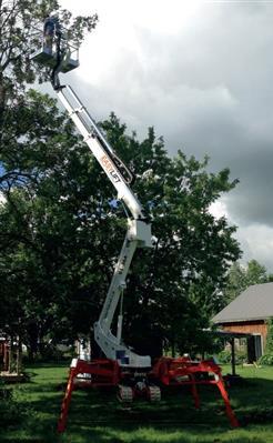EASY LIFT zglobna platforme na gusjenicama PAUK 19 mt