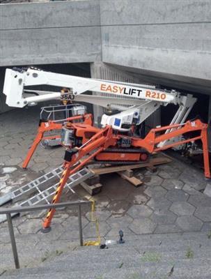 EASY LIFT zglobna platforme na gusjenicama PAUK 21 mt
