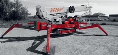 EASY LIFT teleskopska platforma na gusjenicama PAUK 42 mt