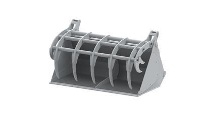 Multifunkcijska korpa PRO- A406 (5 zubiju, 0,70 m3)