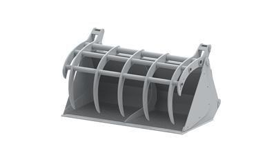 Multifunkcijska korpa EKO- A407 (4 zuba, 0,57 m3)