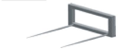Vile za bale- D502 (podiznost 0.8 tona)