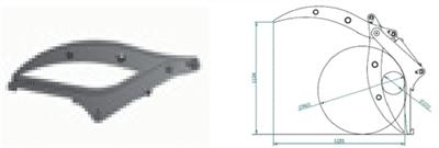 Hvatač trupaca- J102 (podiznost 1 tona)