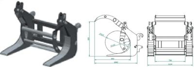 Podizač trupaca- J202 (podiznost 1 tona)