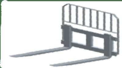 Vilice sa nosačem III - L011(podiznost 3,5 tona)