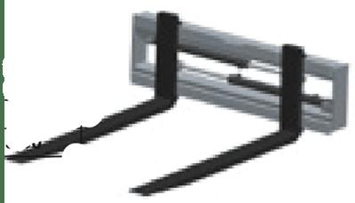 Nosač vilica s pozicionerom L005 (podiznost dvije tone)