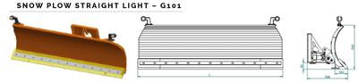 Lagani snježni plug G101