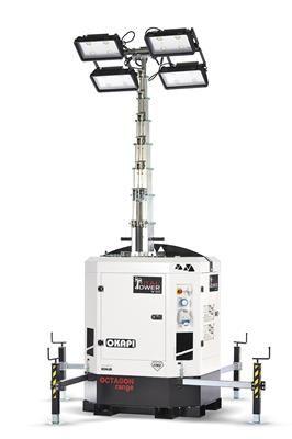 Svijetleći toranj OKAPI-BATT02