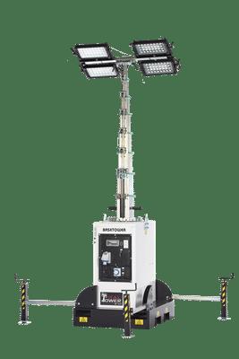 Svijetleći toranj BASETOWER PRO 01 Multiled,  H