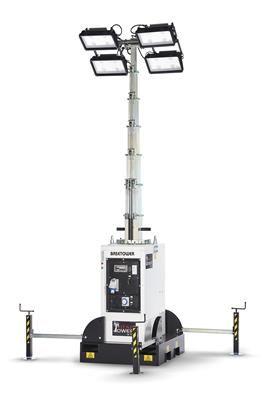 Svijetleći toranj BASETOWER PRO 02 Multiled, H