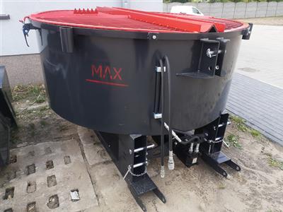 Betonska miješalica 800L (opcije: PTO pogon/hidraulični motor/kanta za punjenje)