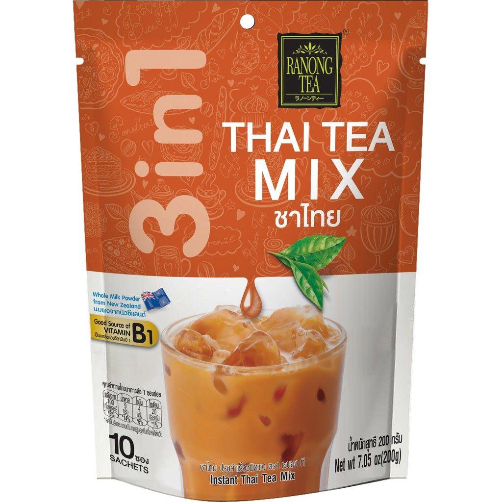 trà sữa thái đỏ ranong tea