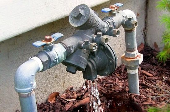 Check your backflow Water Damage Sydney