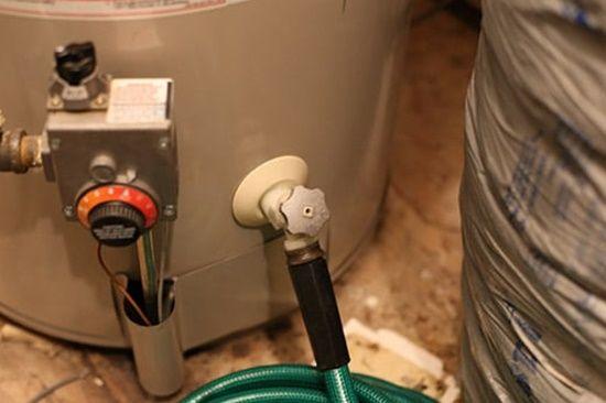 Drain the water heater regularly