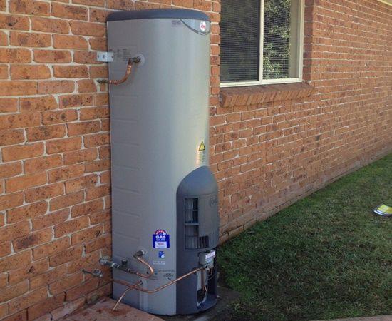 Installed Rheem Stellar Gas 330L gas heater