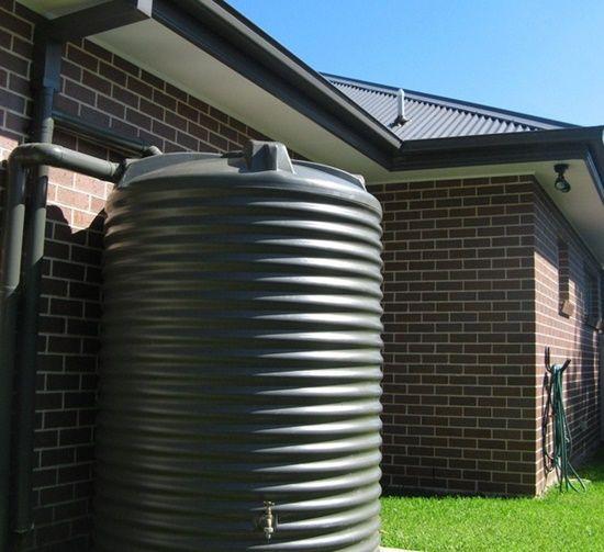 Check your rainwater tank
