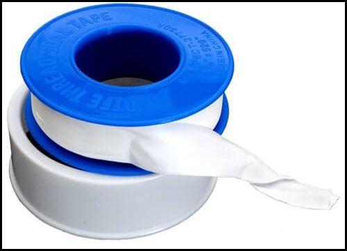 plumbing tools and equipments - teflon tape