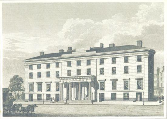 1829 – Boston's Tremont Hotel