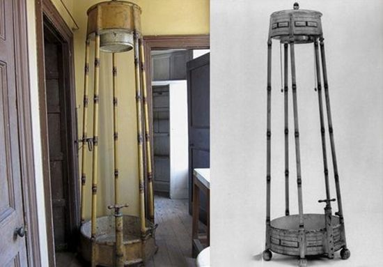 1810 - The English Regency showers