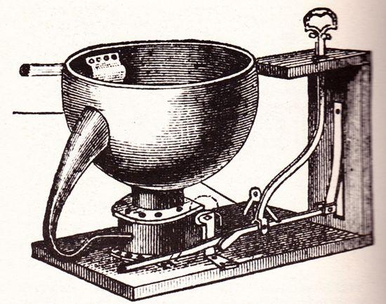1775 – The modern toilet prototype