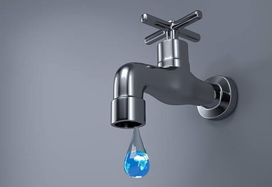 water wastage - leaking tap
