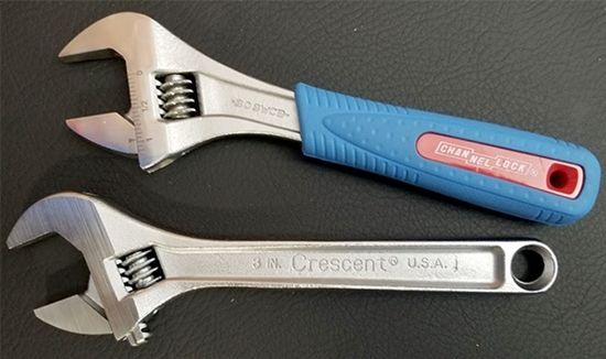 Tools - Adjustable Wrench