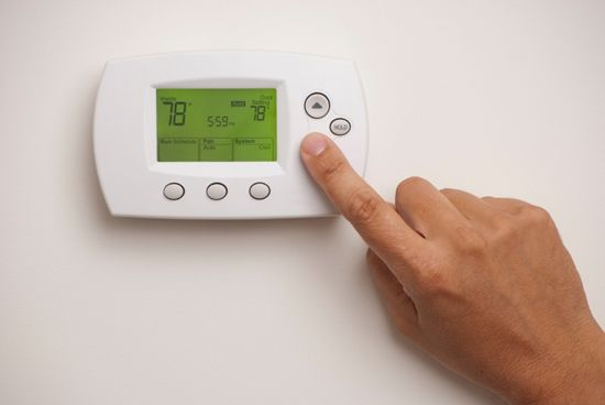 smart heating - programmable thermostat