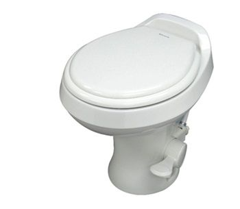 Gravity-Flush Toilet