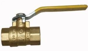 types of water shutoff valves