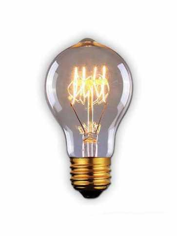 canarm a60 60w vintage bulb model 1 b-a60-23c