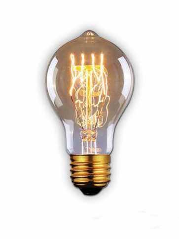 canarm a60 60w vintage bulb model 2 b-a60-23lg