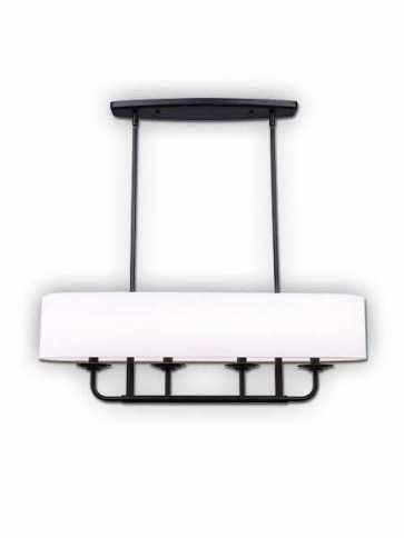 canarm eastbrook 4 lights matte black chandelier ich629a04bk32