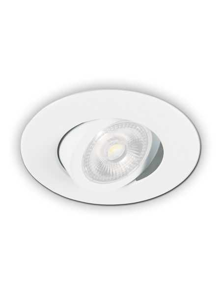 Prilux Led Recessed Light Par20 Matte White Ic Remodel Prir20 G11 72